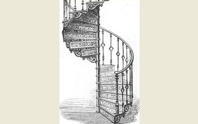 Product Picture. Companies Supplying Goods Or Services For Spiral Staircases  : Cast Iron