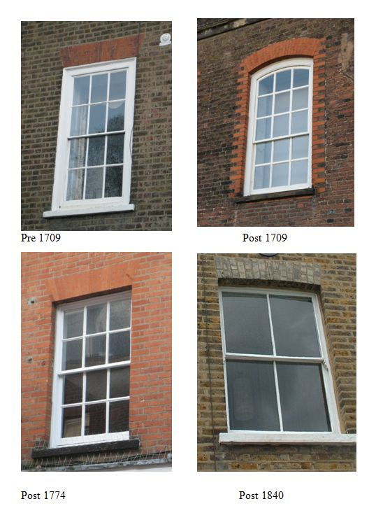 The heritage directory articles for Sash window design